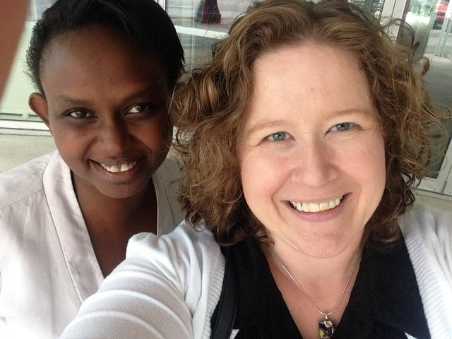 Nina (l) and Nicole (r) recently wrapped up their year-long mentorship match