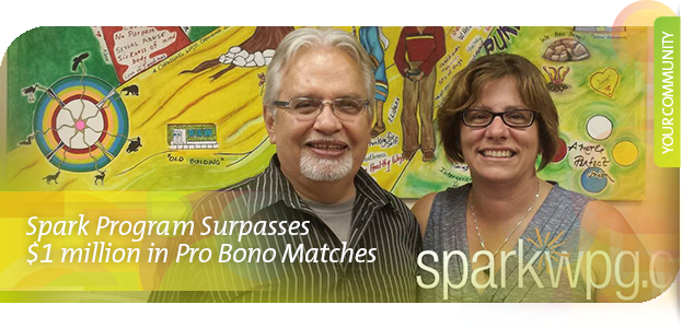 Spark Program Surpasses $1 Million in Pro Bono Matches