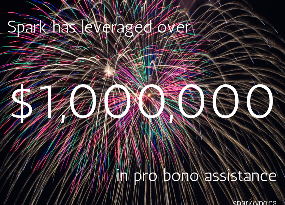 Spark Surpasses $1 Million in Pro Bono Assistance