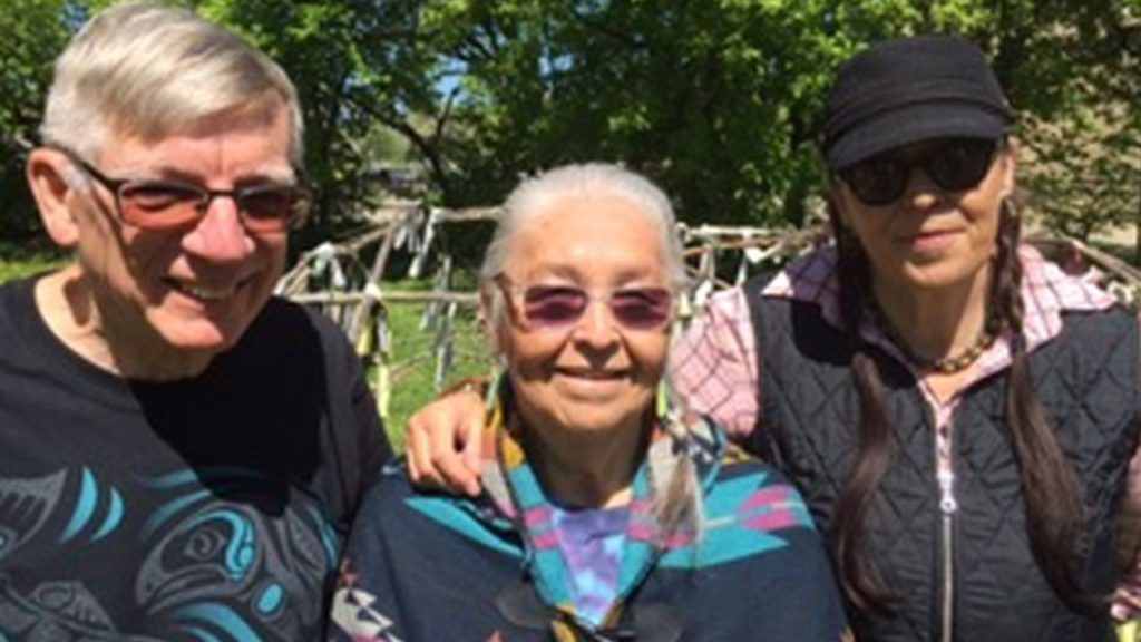 Clan Mothers Turtle Lodge - George H. George H, Mae Louise C , Jamie G