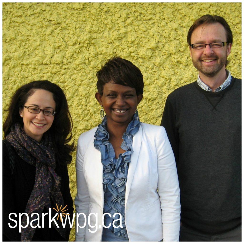 ECRC - Ed H and Lisa L. Lisa L, Nina C, Ed H watermarked