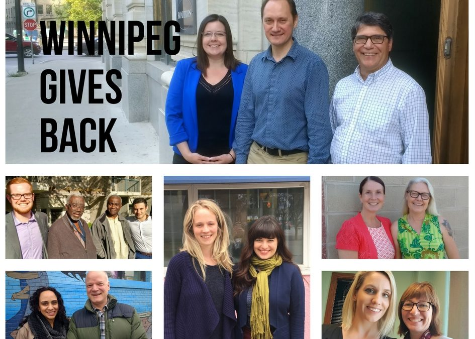 Winnipeg Gives Back! 4 Reasons Why Winnipeggers Volunteer