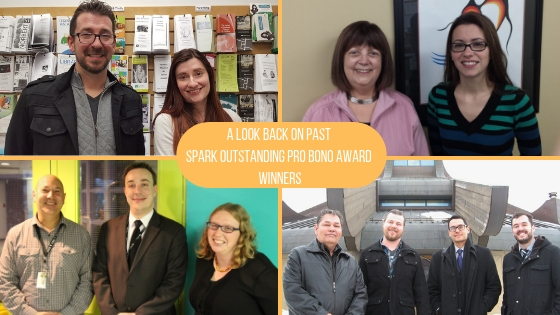 A Look Back on Past Spark Outstanding Pro Bono Award Winners