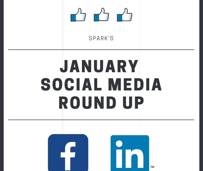 January Social Media Round Up
