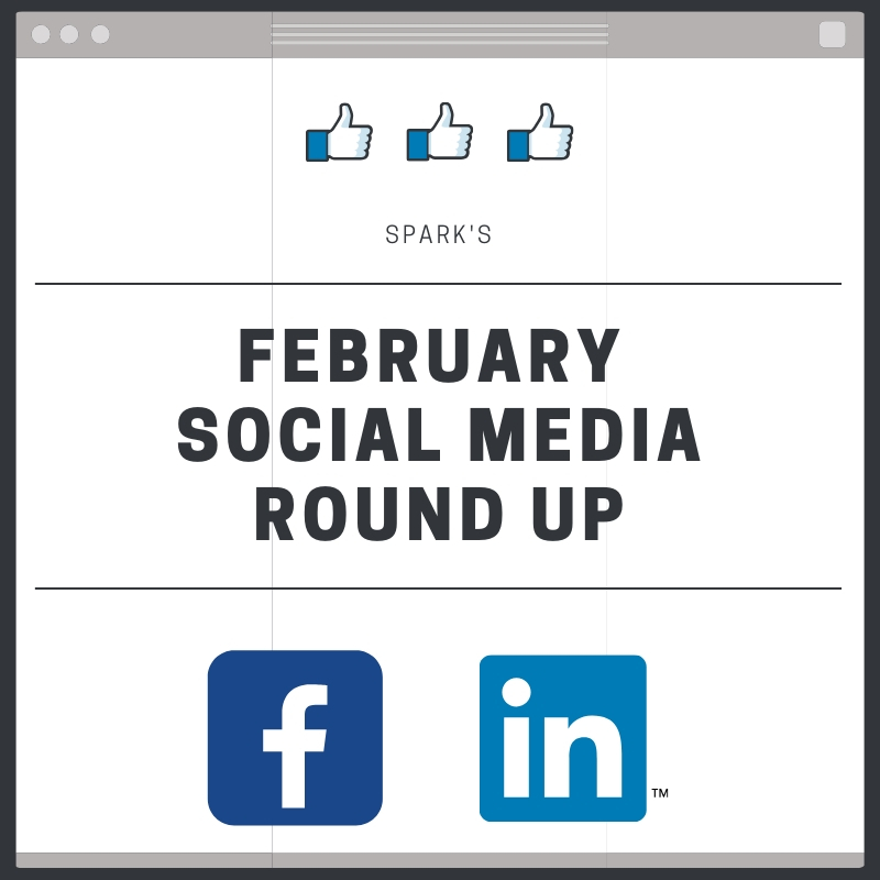 Here's everything we did on LinkedIn and Facebook this month!