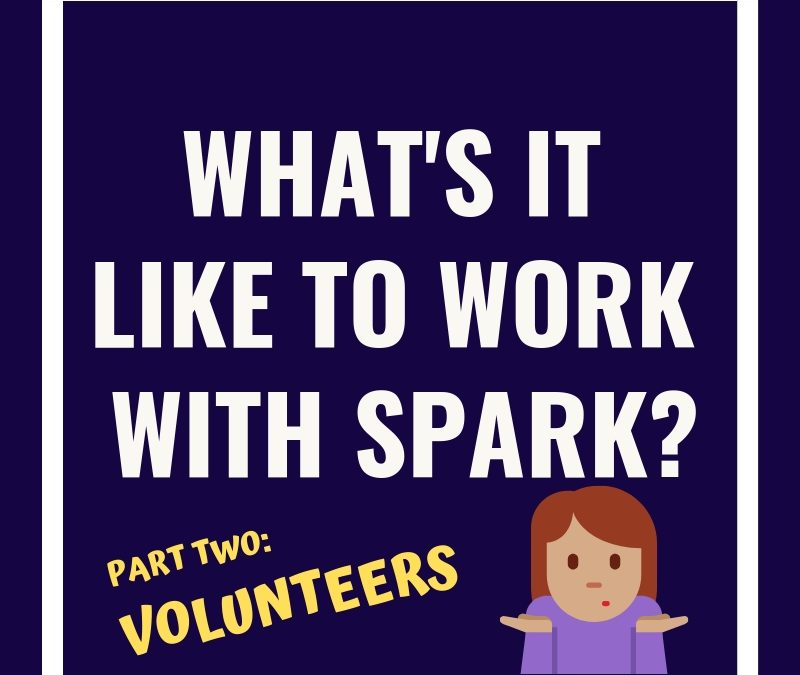 Ever Wonder What It's Like To Work With Spark As A Volunteer?