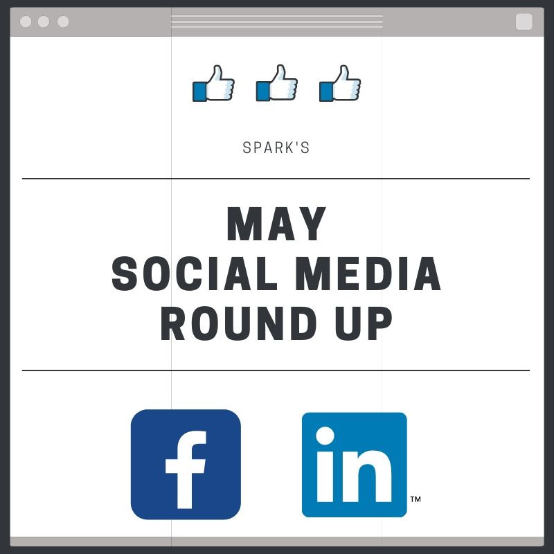 Missed us in May? Here's everything we did on social media this month!