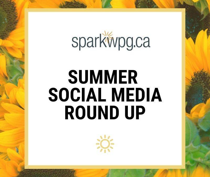 Summer Social Media Round Up