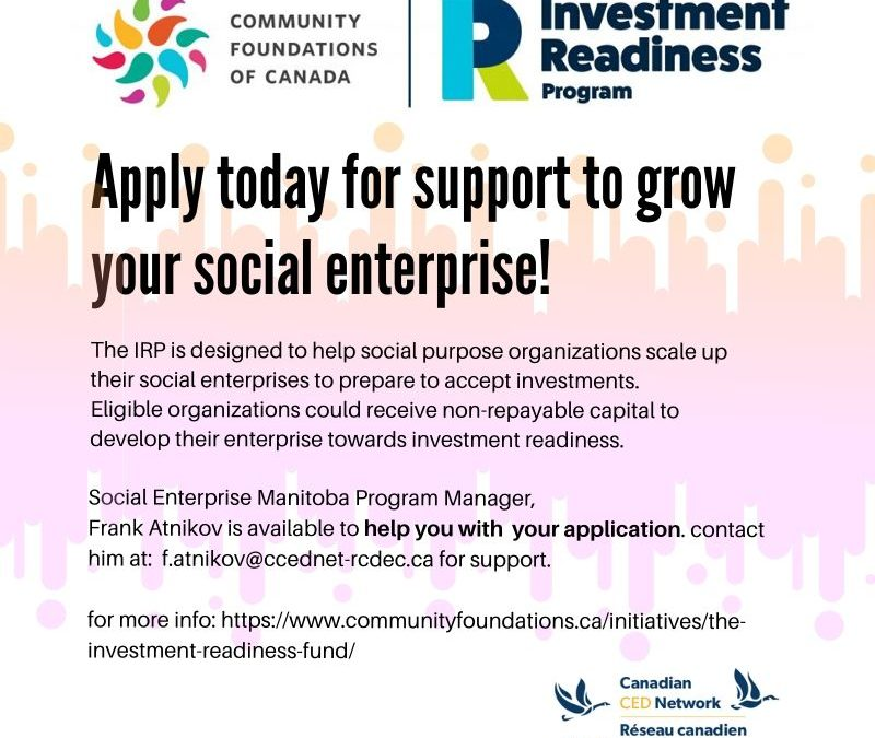 Do you want to grow your Social Enterprise?