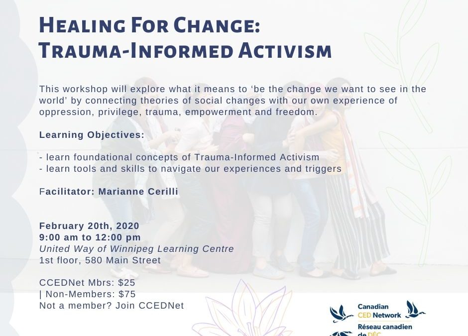 Healing for Change: Trauma-Informed Activism