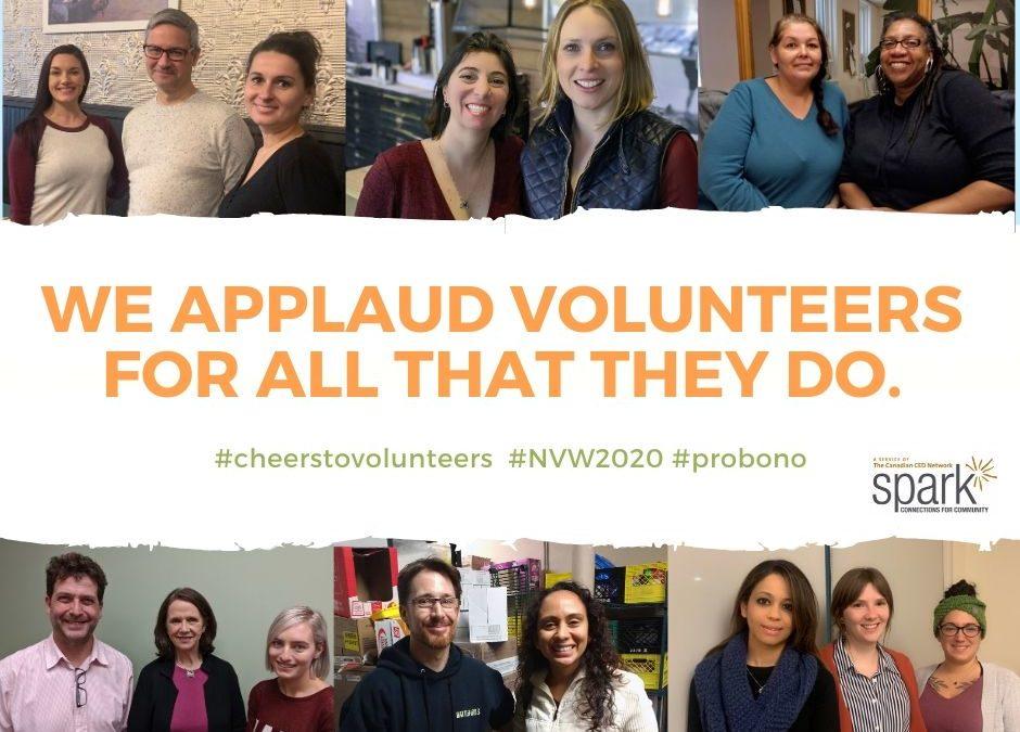 National Volunteer Week 2020!
